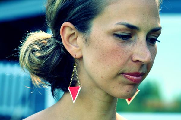Project DIY: Cupid's Arrow Earrings
