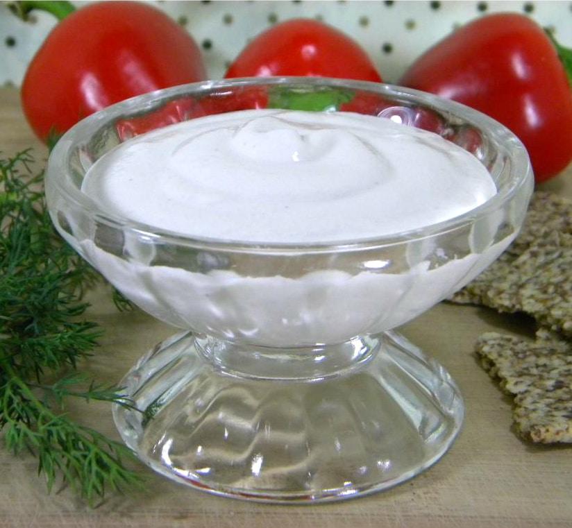 Raw Vegan Cashew Sour Cream