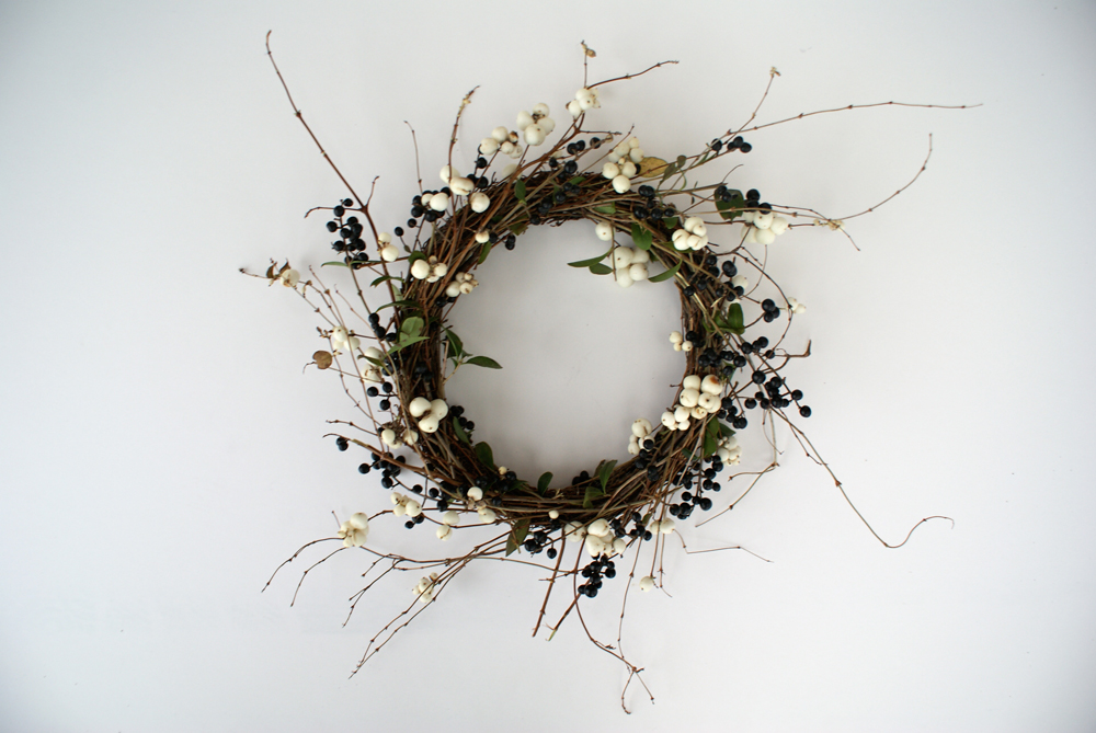 Branching Out: Make This Sweet and Simple Berry Wreath