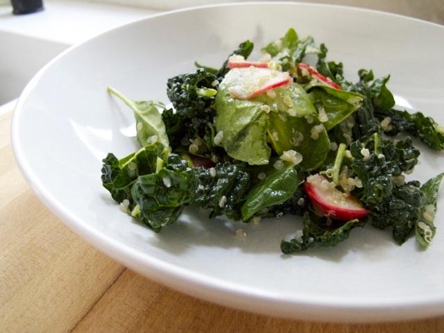 Eating Local: Farm Fresh Greens With Quinoa