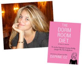 Giveaway Monday: Daphne Oz's The Dorm Room Diet