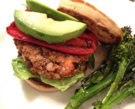 The Most Delicious Veggie Burger Ever