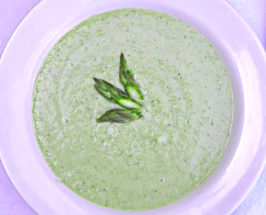Raw Staples in Action: Cream of Asparagus Soup