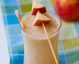 Apple Shake With Peanut Butter And Banana
