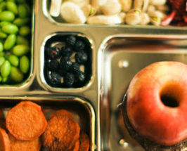 Lunchbox Make-Unders with Alyson: Apple Sandwiches and Pistachios