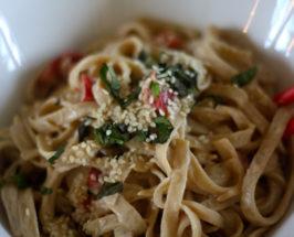 Coconut-Sesame Summer Noodles