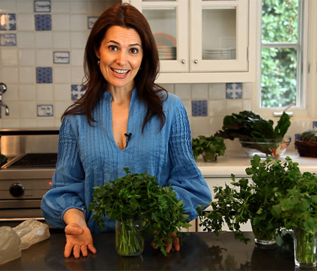 Cooking Class with Chef Pamela: Caring For Fresh Herbs