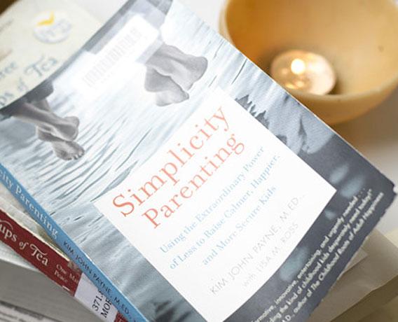 TCM BOOK REPORTS: 'SIMPLICITY PARENTING'