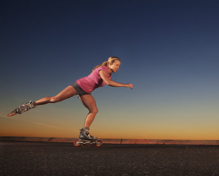 Is Rollerblading Back? Getting Inline with Kacie Fischer