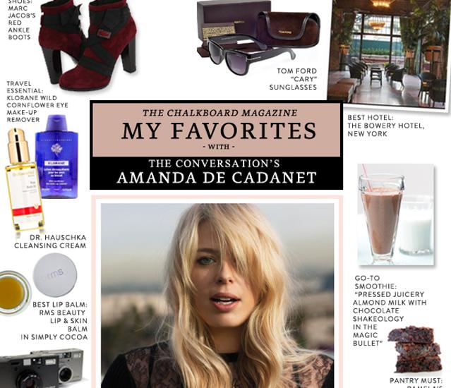 My Favorites with Amanda de Cadenet