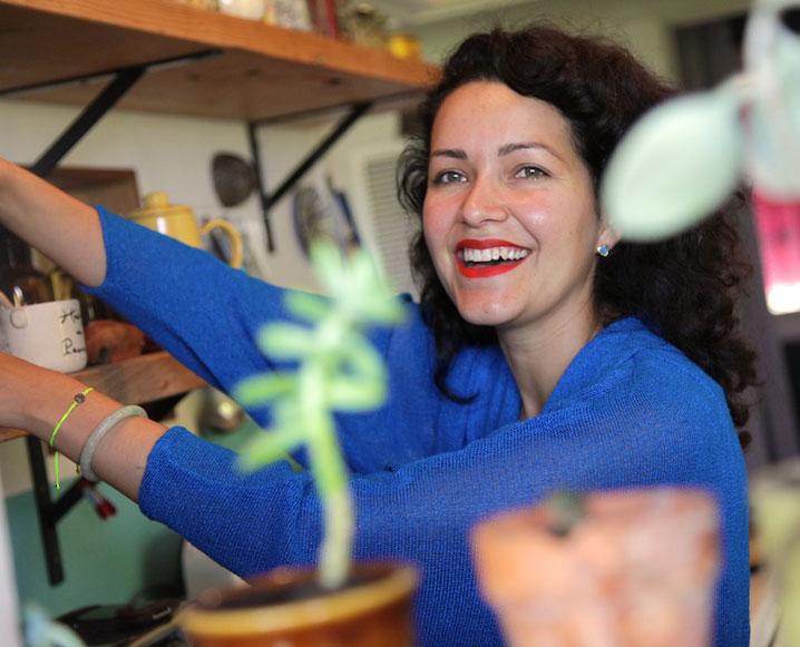 Inside Shoe Designer Beatrice Valenzuela's Beautiful Kitchen