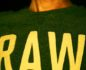"Vito ""Nudo Crudo"" - translation: naked and raw - wearing a befitting t-shirt"