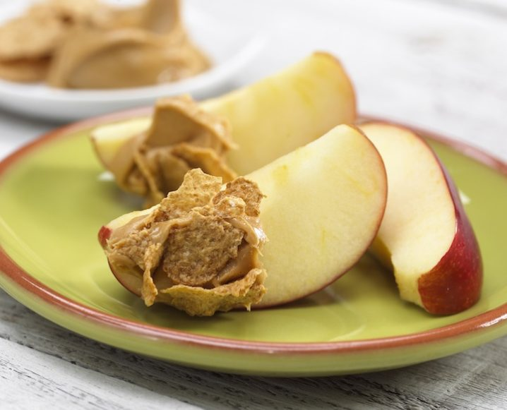 Apple Slices + Almond Butter