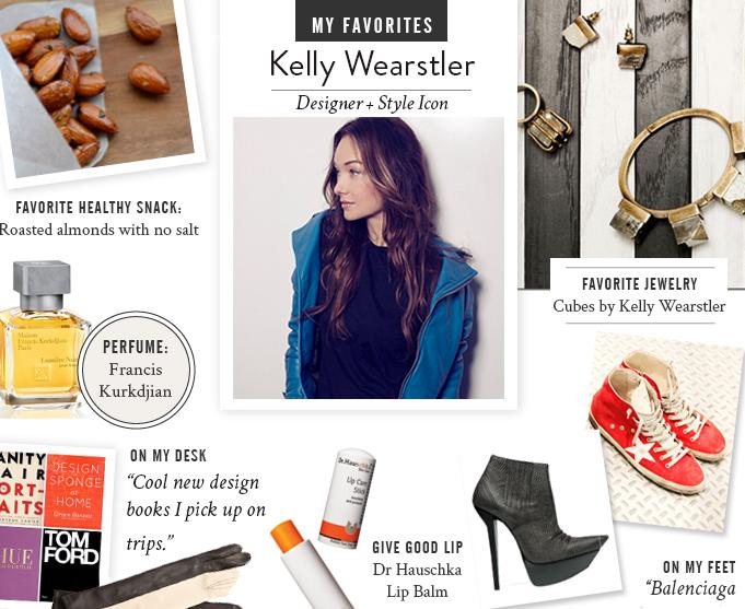 kelly wearstler favorite things my favorites