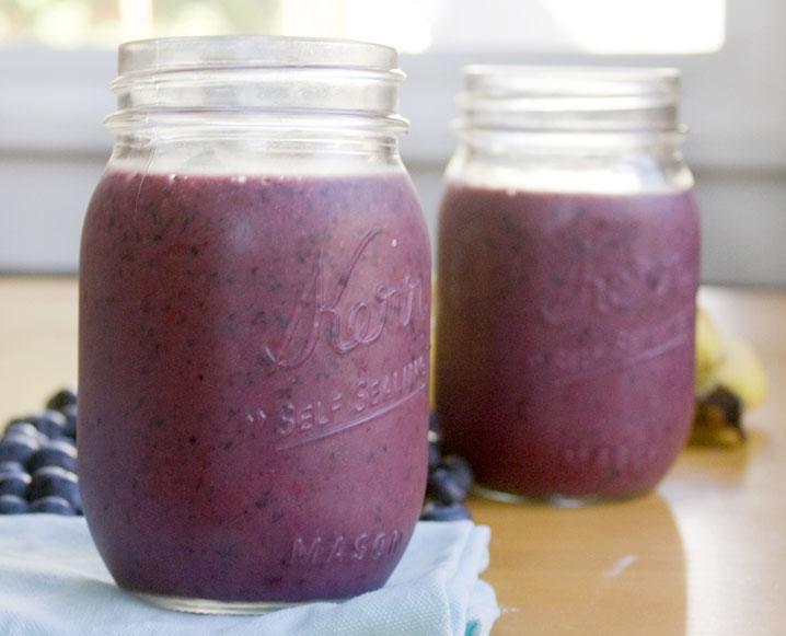 A Green Shake For Energy And Hormone Balance