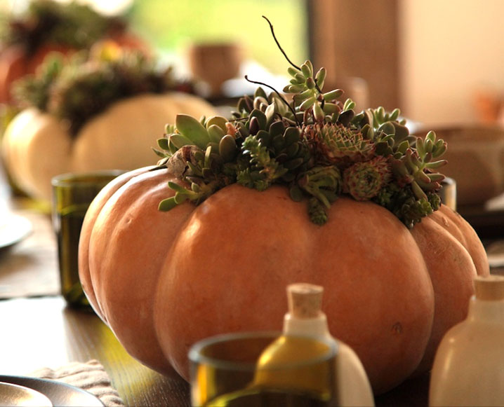 Make It By Monday: Thanksgiving Pumpkin Centerpieces