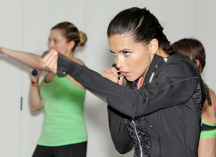 Strong Armed: Victoria's Secret Angel Adriana Lima