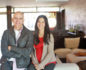 Lisa Ling and the architect Marco DiMaccio in the home they designed together