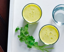 An Everyday Detox Juice and Salad