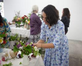 Inside Heather Taylor's Stunning Flower Arranging Workshop