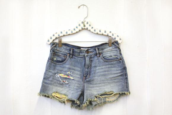 Make It By Monday: Coachella-Ready Denim Shorts