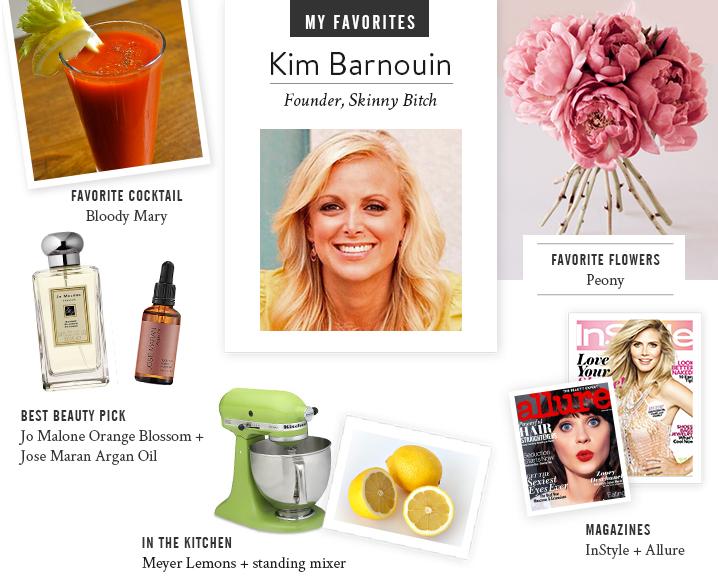 My Favorites with Skinny Bitch Founder Kim Barnouin