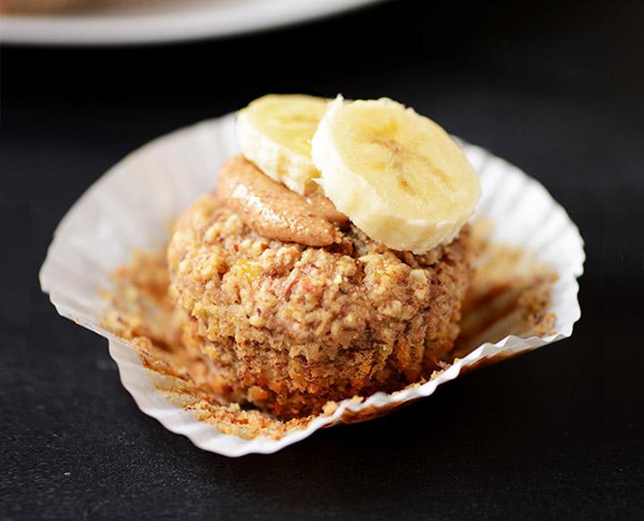 Chia Banana Breakfast Muffins