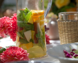 End Of Summer Spiced White Sangria Recipe