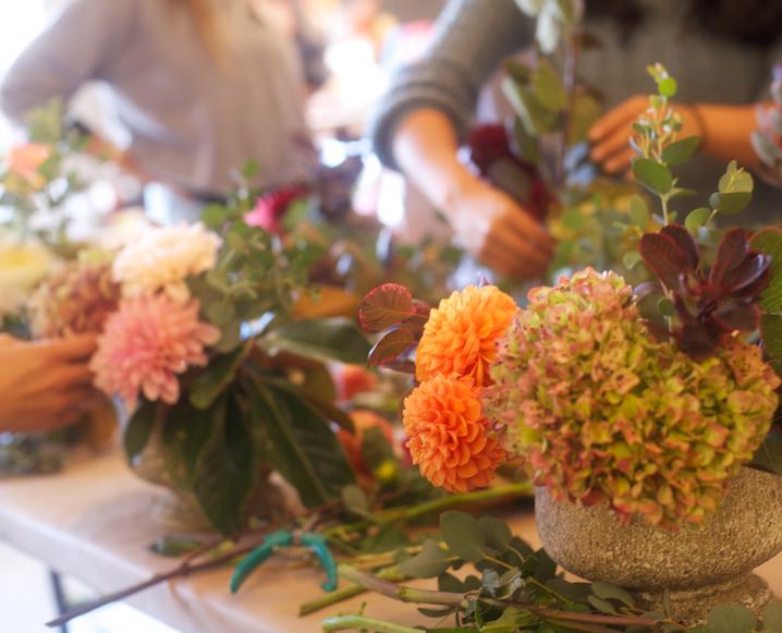Autumn Arrangements: A Fall Workshop With Our Favorite LA Florist