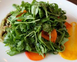 First Of The Season: Raw Pistachio Persimmon Salad
