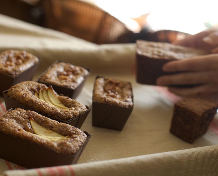 Coco's Carrot Apple Cakes