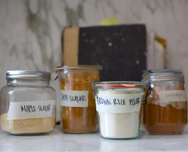 Gluten-free baking supplies