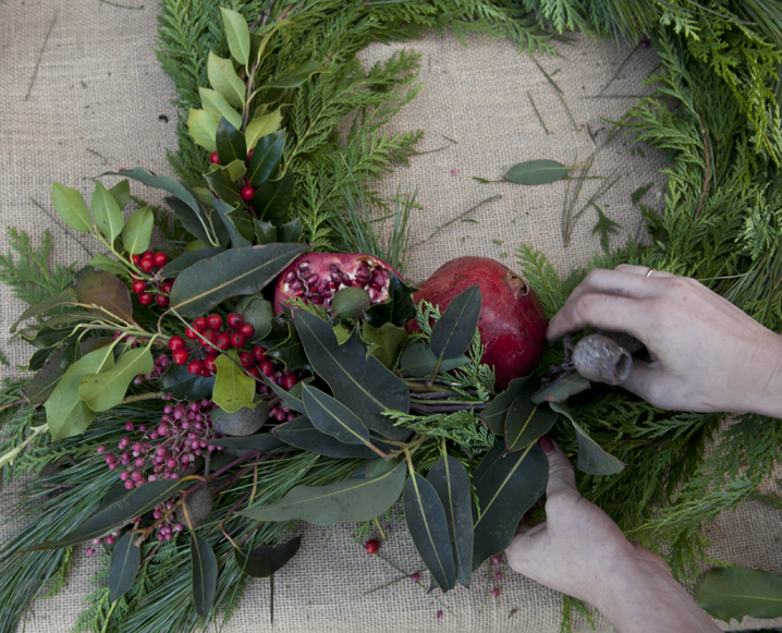 Deck The Halls: Botany's Gorgeous DIY Wreath