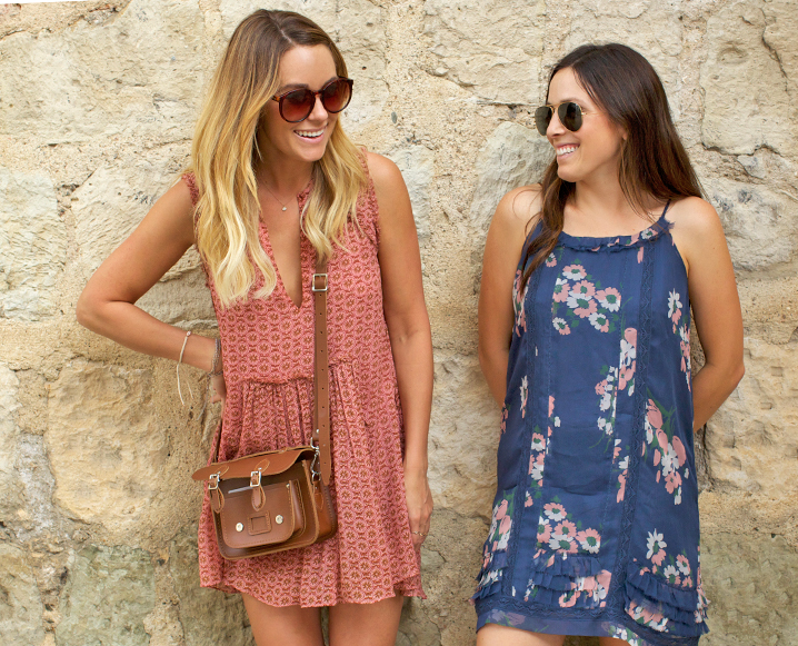 Mornings with The Little Market's Lauren Conrad and Hannah Skvarla