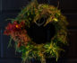 The welcome wreath at  Kimberly Muller's recent holiday get-together