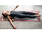 Supported Corpse Pose Variation