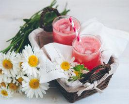 Herb-Infused Raspberry Honey Lemonade