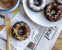 One Sweet Makeover: Coconut Fudge Protein Donuts