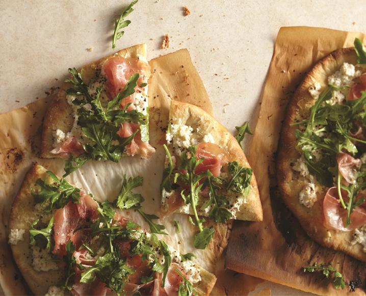 white pizza prociutto recipe