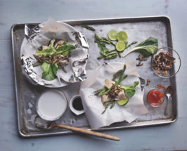 Cook and Play: A Gift-Wrapped Fish Recipe For The Whole Family