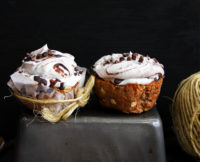 Unbake This: Carrot Cake Cupcakes with Cacao Cashew Cream