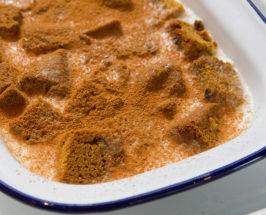butterscotch pumpkin bread pudding