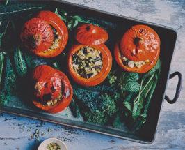 Green Kitchen Stories' Feta + Kale Stuffed Pumpkins