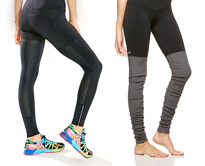 LBD Redux: 15 Little Black Leggings We Can't Live Without