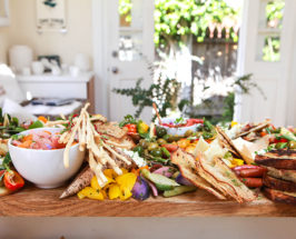 Big Snacks, Tiny Kitchen: An Epic Crostini Board Inside This Adorable Cottage