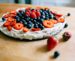 Red, White, And Blueberry: A Raw Cheesecake Recipe Perfect For The Fourth