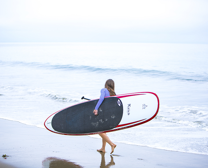 SUP, Malibu: How To Paddle Board + Not Lose Your Cool
