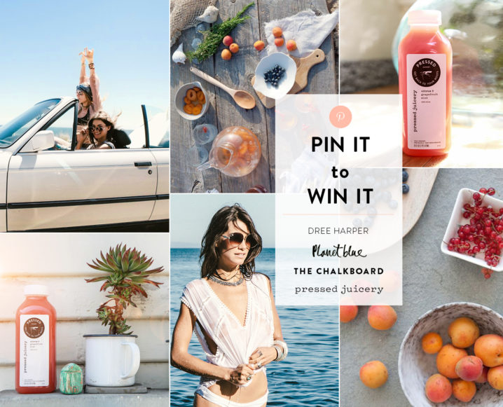 Endless Summer: Win Our Chalkboard Mag x Planet Blue Pinterest Contest!