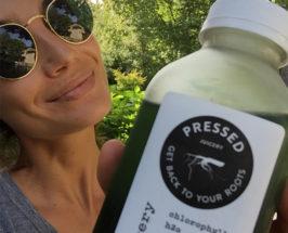 How Lily Aldridge Stays Healthy During Fashion Week