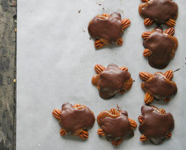 Is This Real Life: Chocolate Caramel Turtles That Are Good For You